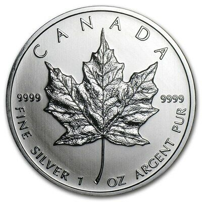Canada 2011 Feuille Erable 1 Once argent pur 9999 / Maple Leaf 1 Oz fine Silver