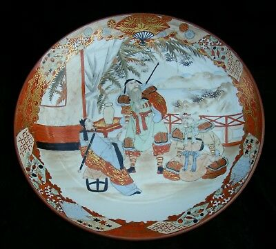 Exceptional Japanese Kutani Charger Plate - Meiji period - Circa 1900 - 1915