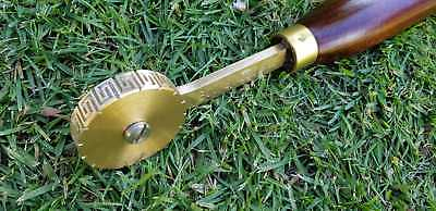 Bookbinding Tools Brass Wheels/Rolls 20 other Designs also available