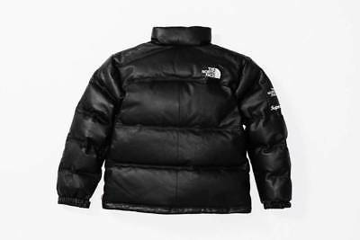 d85f08a7b7 SUPREME X THE North Face Leather Nuptse Jacket