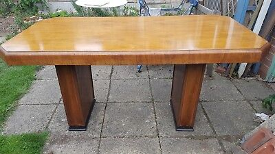 Vintage Art Deco Style Dining Table