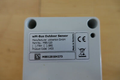 wireless M-Bus MBS-120 - wm-Bus Outdoor Sensor - MBS120104273