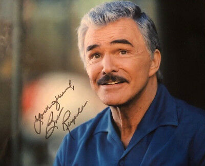 Burt Reynolds signed autographed 8x10 Photo X-Files