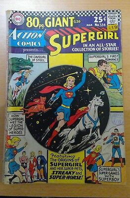 DC Action Comic - 80 pages - no.334 - March 1966 - Supergirl - vg+