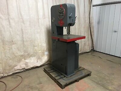 "Doall, Vertical Band Saw, Model Ml, 20"" Table, Serial 5115455"