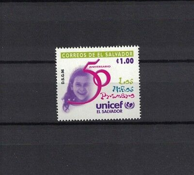 El Salvador 1996 Minr 2035 ** / mnh UNICEF UNO Kinder children