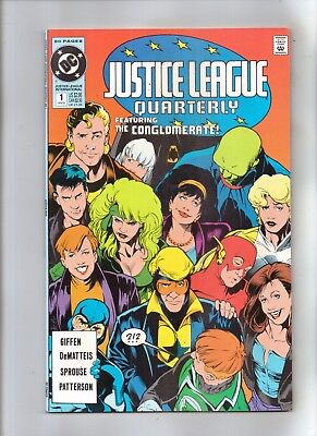 JUSTICE LEAGUE QUARTERLY No 1 Featuring THE CONGLOMERATE!