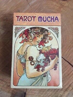 Tarot Mucha Used Once by Lo Scarabeo Deluxe Cards Art Nouveau