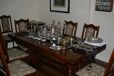 Large Job Lot Silver Plate