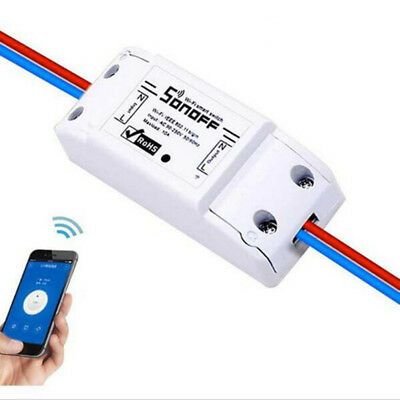 Sonoff Switch Relay Module Timer Smart WiFi Wireless Remote For Iphone&Android