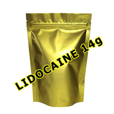 LIDOCAINE POWDER 14g DENTAL ORAL PAIN RELIEF !!! FAST & FREE DELIVERY !!!