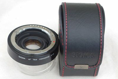 Sigma AF 1.4x teleconverter for pentax inc DSLR and full frame.