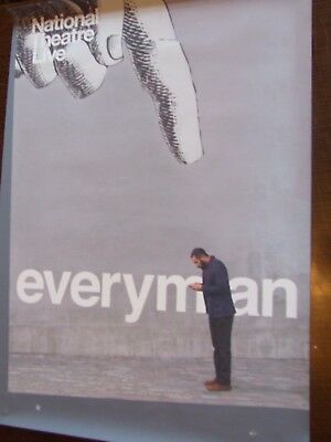 Everyman - Chiwetel Ejiofor - National Theatre Live  Poster