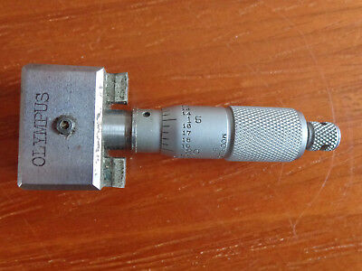 Vintage Moore & Wright Micrometer Adapted to Olympus Engine (Concorde)