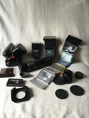 Joblot Photographic Equipment. Holidays 16/08 - 31/08
