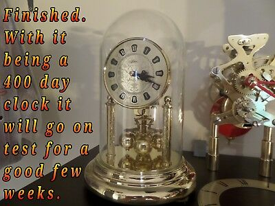 Restored & Serviced Kern 400 Day/anniversary Clock         64 Photos Of The Work