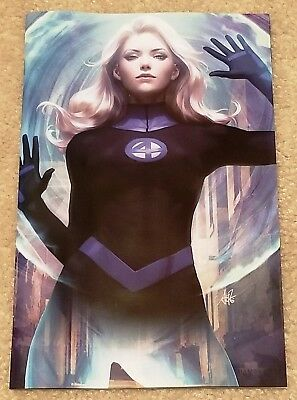 Fantastic Four 1 Lgy 646 Artgerm Sue Storm Virgin Exclusive Variant 1St Eradikus