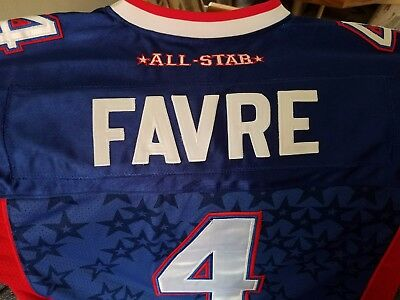 Brett Favre Authentic Pro Bowl Jersey 2008 Size Men's 54 Awesome,good Looking