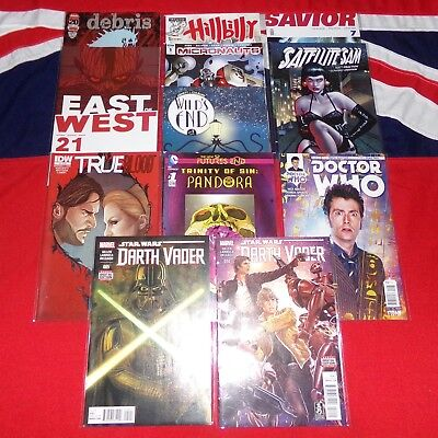 Marvel DC & Indie Comics - 12 Issues MEGA Job Lot Collection - Star Wars Dr Who