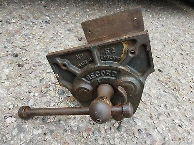 VINTAGE RECORD No 52 Quick Release Woodorking BENCH VICE