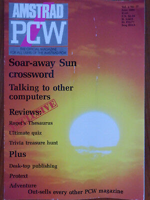 Amstrad PCW - May & June 1989 - 2 vintage computer magazines
