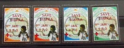 BIAFRA Old Stamps Set - RED CROSS - Mint MNH - VF - r35e7222