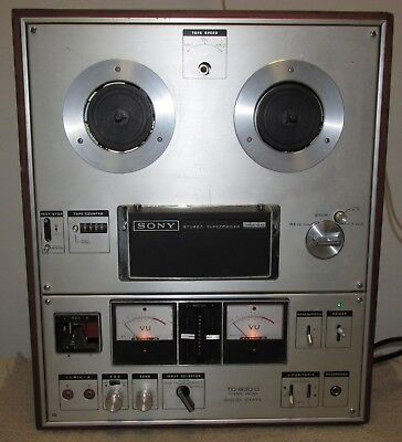 Vtg SONY TC 630D Reel To Reel Tape Deck AS-IS/Parts/Project/Not Working J0899