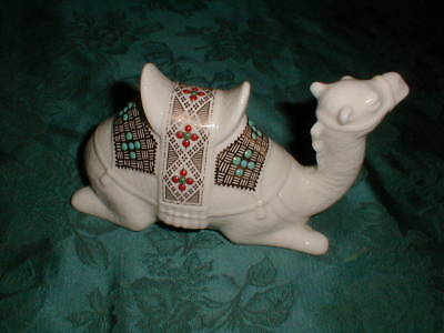 Lenox China Jewels Collection Nativity Lying Sitting Down Camel, Free Shipping