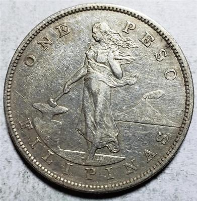 Philippines, Peso, 1903, Very Fine-Extra Fine, .78 Ounce Silver