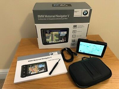 Bmw Garmin Navigator 5 V With Lifetime Europe & Box