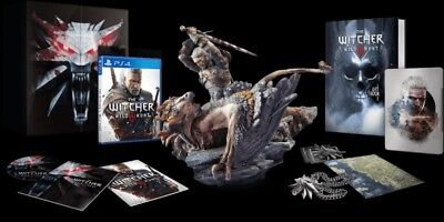 The Witcher 3 - Collectors Edition - PS4 neuwertig