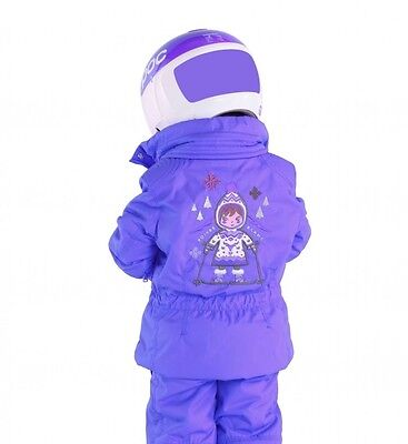 Poivre Blanc Girls Ski Jacket 4 years/104cm Grape Brand New + Tags RRP £173
