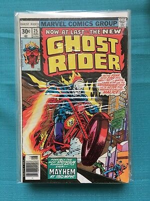 Bronze Age Ghost Rider Lot 18 total comics - Varying condition