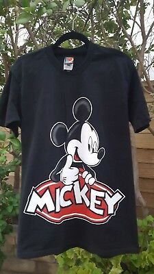 MICKEY MOUSE T SHIRT-Mickey Unlimited by Jerry Leigh of California-LARGE-VINTAGE