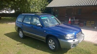 Subaru Forester 2.0 X Manual 2003  (All Weather Pack)