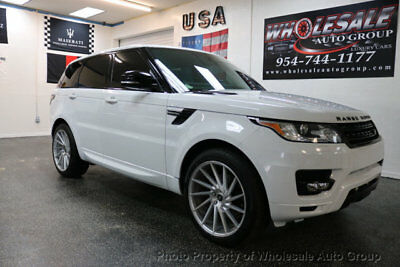 2014 Land Rover Range Rover Sport 4WD 4dr Supercharged FULLY LOADED. CARFAX CERTIFIED. MUST SEE. NO DEALER FEE. NATIONWIDE SHIPPING