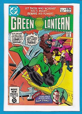 Green Lantern #140_May 1981_Very Fine/near Mint_Adam Strange_Bronze Age Dc_Uk!