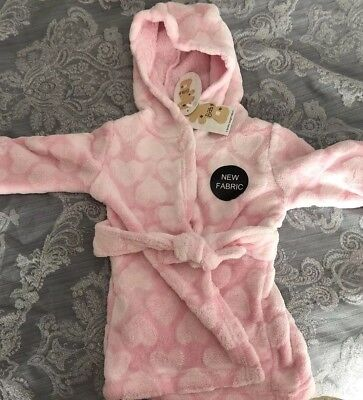 3-6 Months Girls Dressing Gown