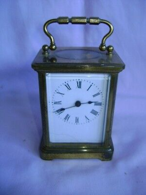 Antique French Carriage Clock Couaillet Freres 1903 With Key
