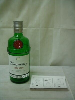 "Tanqueray Gin - 14"" Inch / 300 cL Glass Advertising Dummy Display Bottle *NEW*"