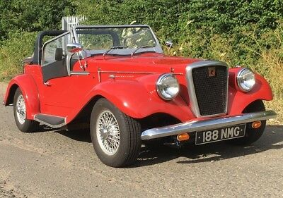 Triumph Spartan Roadster 2000cc Straight Six Overdrive Valuable MG Numberplate