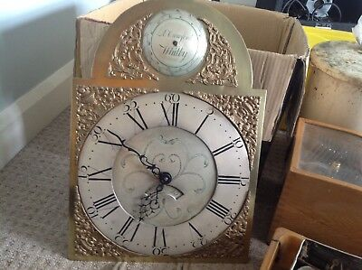Long Case Clock Grandfather Clock 30 Hour Movement Whitby Superb