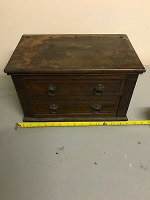 small vintage wooden drawers