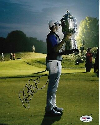Rory Mcilroy Signed Autographed 8X10 Photo Golf Masters Pga British Us Psa/Dna A