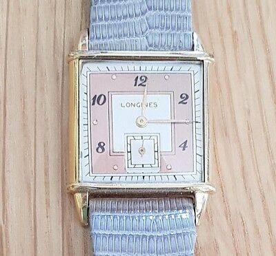 1943 LONGINES Art Deco Vintage Swiss Watch/repair/spares