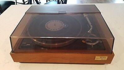 Vintage Sony PS-5520 Stereo Turntable Made In Japan TESTED