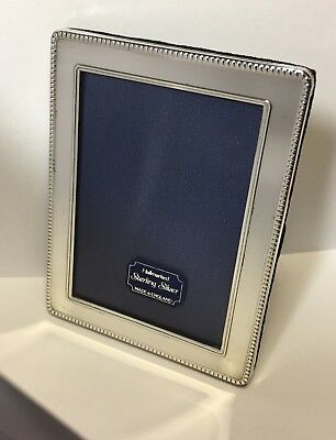 Solid Silver Photo Frame Kitney & Co 1993 Superb Design Very Nice Condition