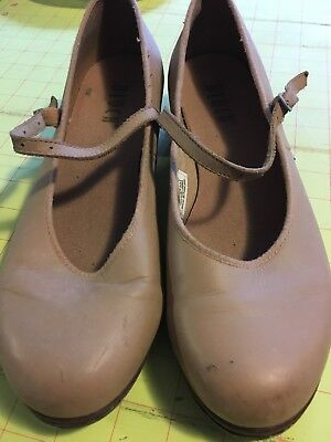 bloch tap shoes Womens Size 9 1/2 Adult Tan
