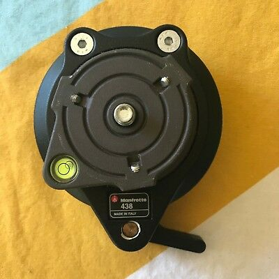 Manfrotto 438 Compact Leveling Head  - Ball From Jungle Expedition NEVER USED