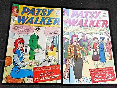 """2 Patsy Walker 1963 Comic Books """"Patsy's Summer Job"""" & """"When a Doll Needs a Date"""